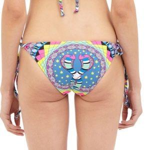 Mara Hoffman Bikini Bottom With Cobras